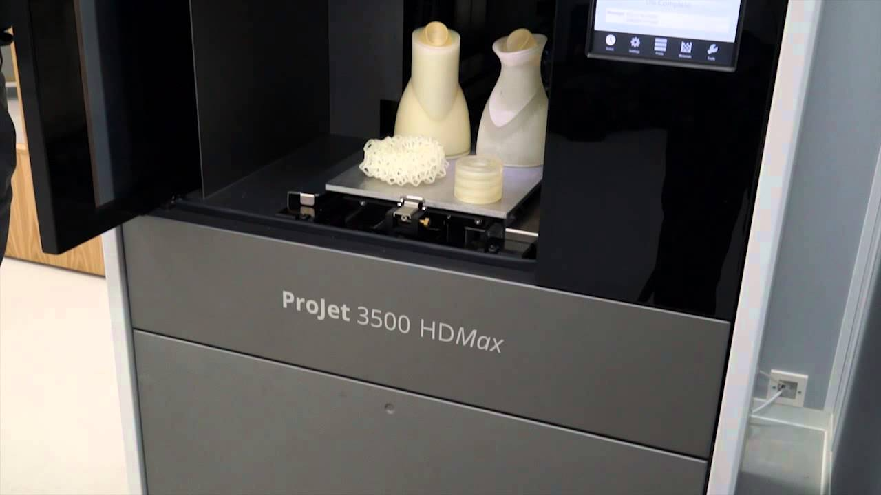 HK 3d Solutions present the ProJet 3500 from 3d Systems