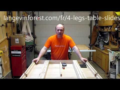 Comment faire une table de cuisine - la structure, 4 de 6, Parlons bois Ep.204