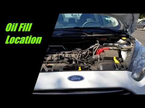 2017 Ford Fiesta How To Change Engine Oil And Filter Youtube