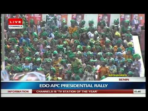 Buhari Woos Benin Indigenes For Votes pt.2