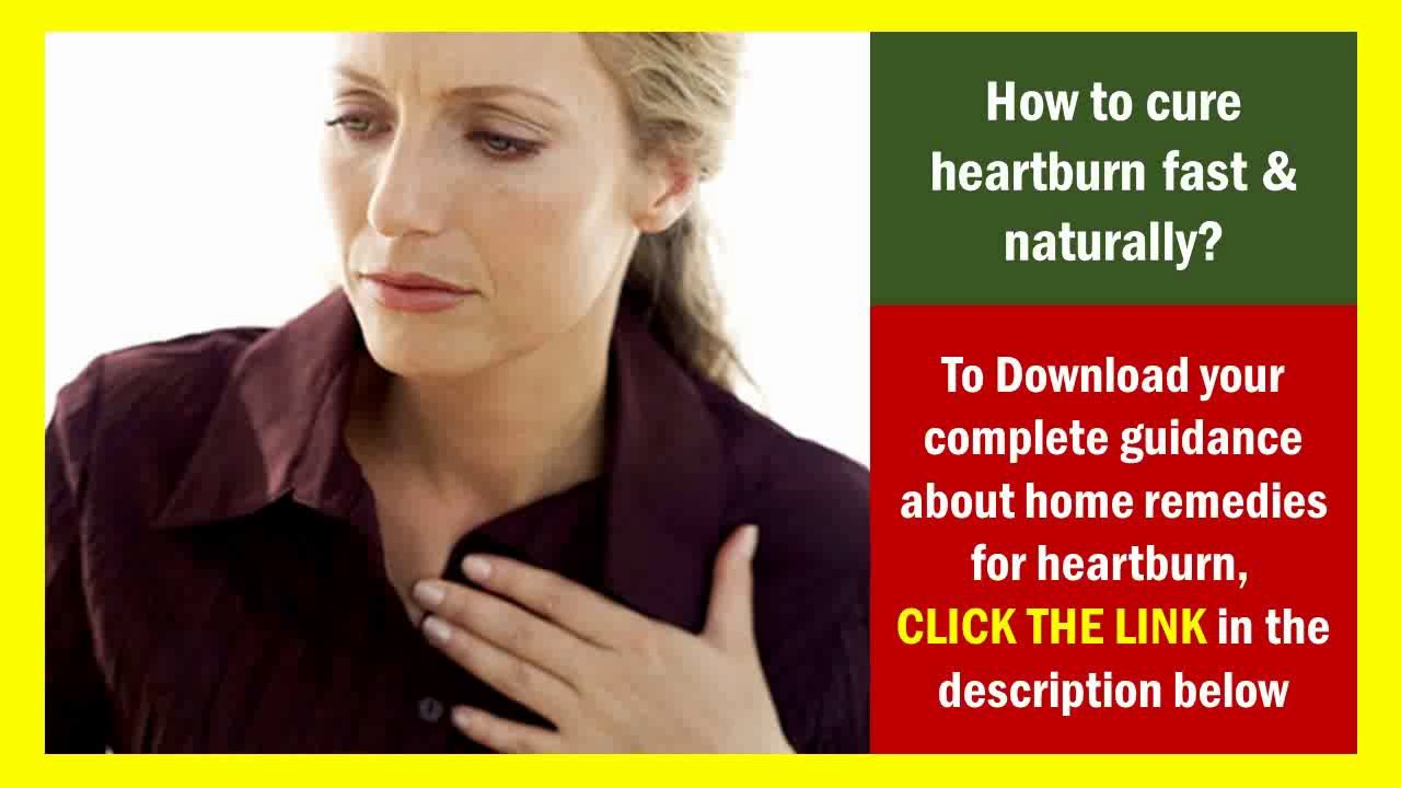 Natural Ways To Get Rid Of Heartburn While Pregnant