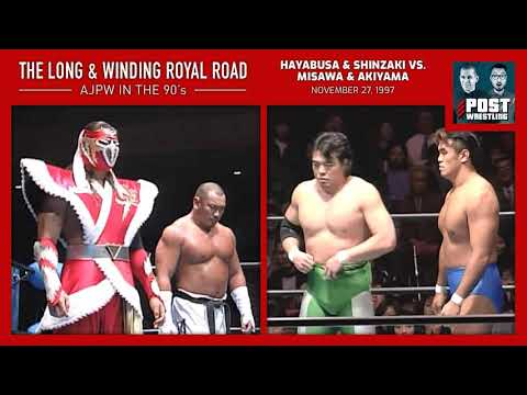 L&WRR #1: Hayabusa & Shinzaki Vs. Misawa & Akiyama (11/27/97) W/ Scrump
