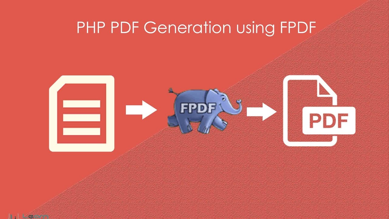 PHP PDF Generation using FPDF - Learn Infinity