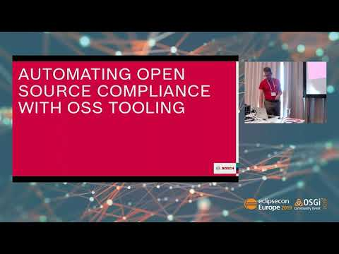 Ensuring Open Source Compliance Using Eclipse Foundation Technology