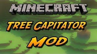Treecapitator MOD 1.7.10 ou 1.8!Como instalar e demonstração (PT-BR)