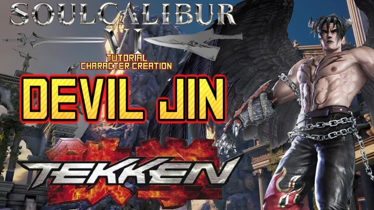 SoulCalibur VI - How to create Devil Jin (Tekken) CAS