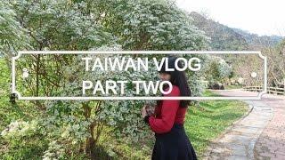 TAIWAN VLOG: PART TWO (Sun Moon Lake & Plum Winery) || Amelia