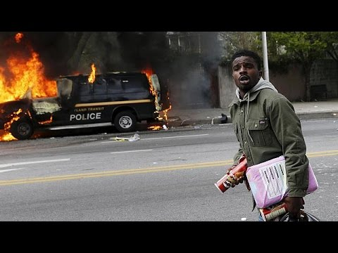 Freddie Gray death prompts Baltimore violence