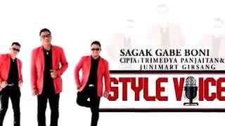 Sagak gabe boni style voice