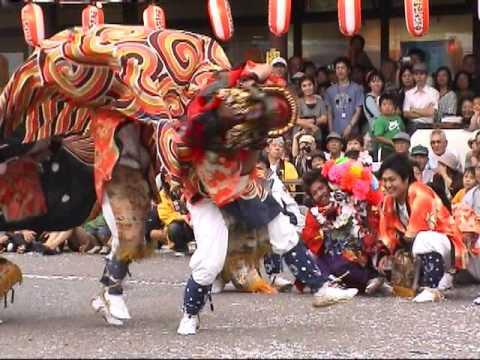 つくりもんまつり 獅子舞(2)富山県高岡市福岡190923