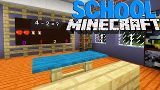 Как построить школу в МАЙНКРАФТ без модов - Minecraft для детей