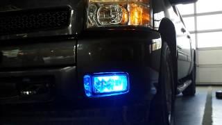 prvs install sound off signal blue lights