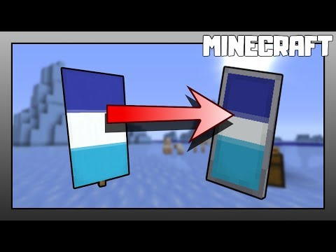 |-|-minecraft-|-|-how-to-put-a-banner-on-a-shield!-1.15-updated