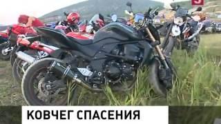 Байк-Шоу 2016 в Севастополе: В Крым съехались байкеры со всей России [Пятый канал]