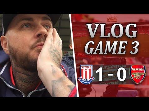 Stoke City 1 v 0 Arsenal | Another Pathetic Away Performance | Matchday Vlog