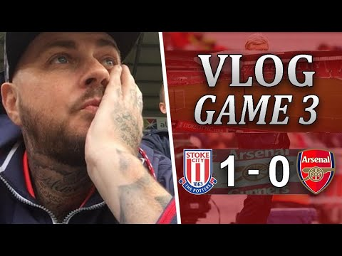 Stoke City 1 v 0 Arsenal | Another Pathetic Away Performance | Matchday Vlog