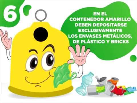 Ocho consejos para el buen uso de los contenedores de residuos