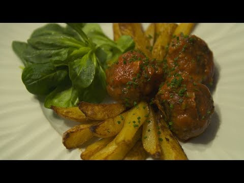 Recette : boulettes de viande et pommes de terre grenaille - Météo à la carte