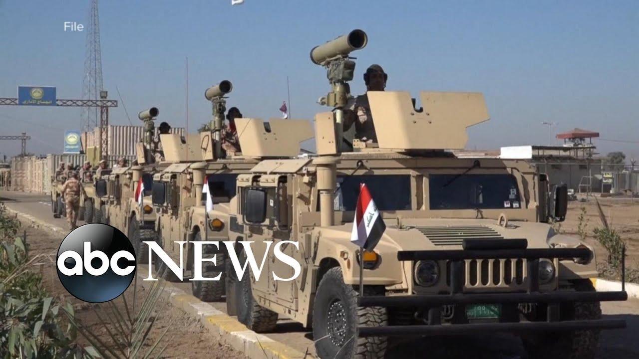 Rocket explodes near US embassy in Iraq