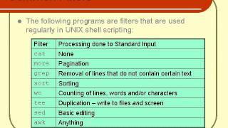07. Unix Shell Scripting Tutorial - Text Processing (Part 1)