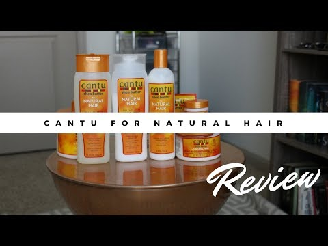 Cantu Shea Butter for Natural Hair Collection  Product Review