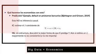 Big data, coronavirus y economía
