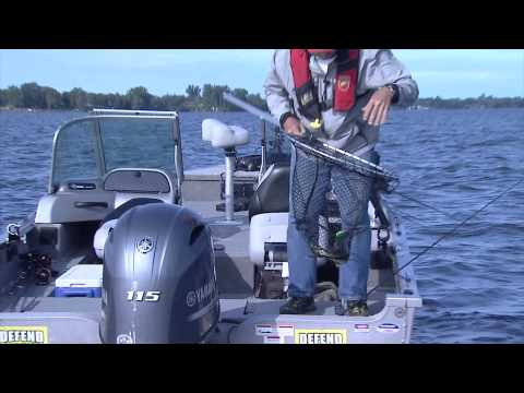 Crankbait Fishing For Walleye, Bay Of Quinte, ON