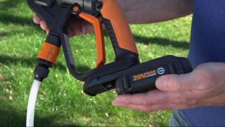 Worx 20V Hydroshot Watering, Rinsing & Cleaning Tool on QVC