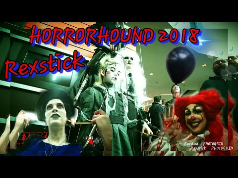 Horrorhound Cincinatti 2018 / Scary Halloween costumes