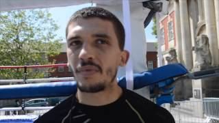 LEE SELBY - 'IM GOING TO BE THE FIRST MAN FROM BARRY TO BECOME WORLD CHAMPION'