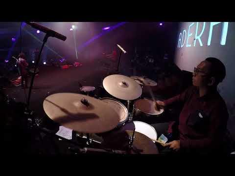 Adera - Lebih Indah Live at DBL Arena (bilchristian drumcam)