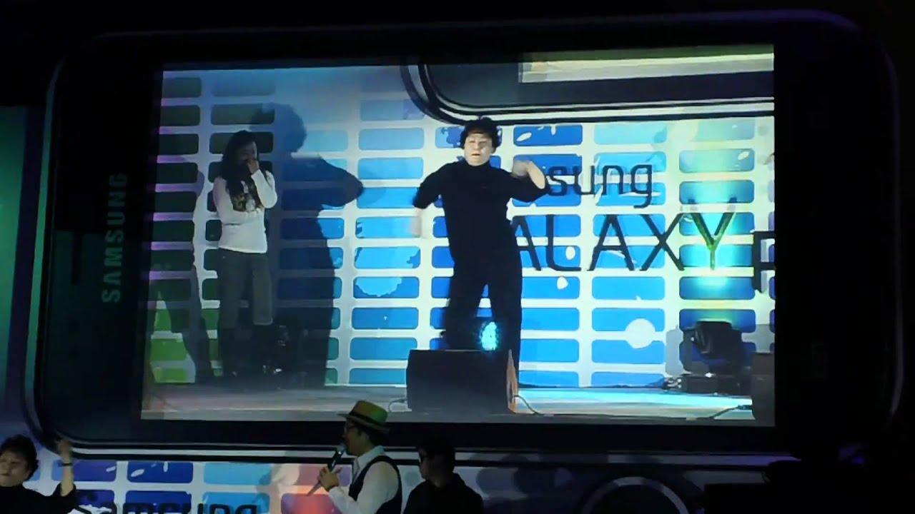 갤럭시플레이어 쇼케이스현장 - 플레이 엣지 나이트(블로기터치촬영)
