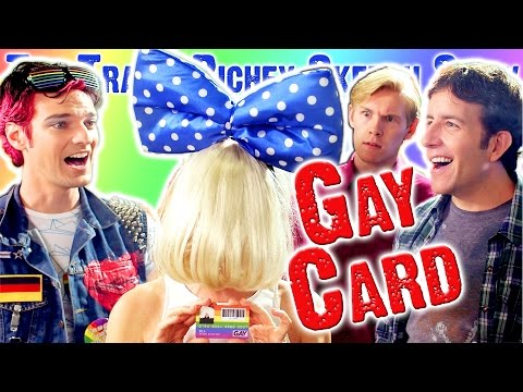"""""""Gay Card"""" (SNL style sketch about Gay Community double-standard)"""