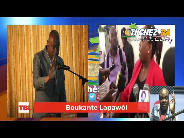 Nan emisyon  Boukante Lapawòl Guerrier Henri manyen byen manyen  senatè Sorel Jacinhe