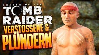SHADOW OF THE TOMB RAIDER 🔥 016: Juhuu! Eingeborene plündern!!