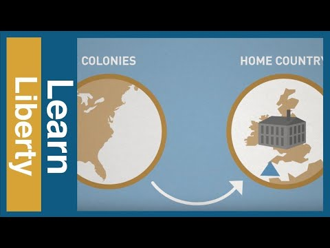 US Economic History 1 — How Mercantilism Started the American Revolution