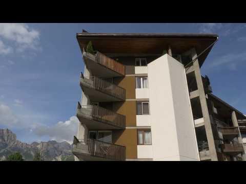 Il condominio Olimpico - il Residence Palace di Edoardo Gellner a Cortina d'Ampezzo