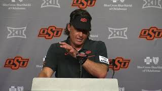OSU Football: Mike Gundy following win over McNeese State