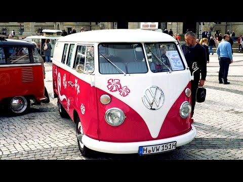60 years VW Vanagon production in Hannover, Germany