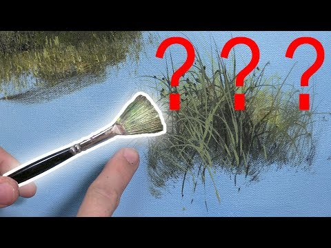 Are You Using Your Brushes WRONG? Art Brush Secrets