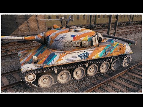 TVP T 50/51 • PERFECT GAME • WoT Gameplay