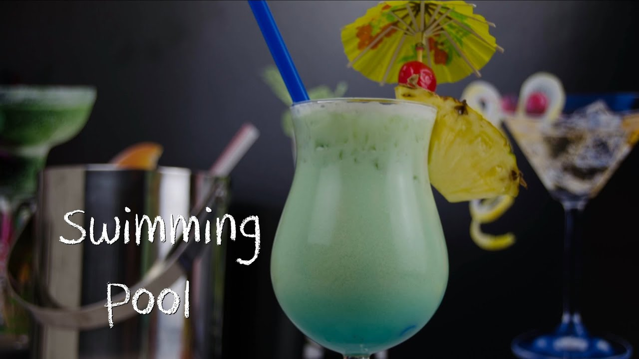 Gewaltig Longdrinks Klassiker Dekoration Von Swimming Pool - Der Cremig Süße Cocktail-klassiker
