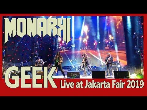 MONARKI LIVE - GEEK AT JIEXPO 2019 - STAGE NGERI, SOUND SADIS #jakartafair2019 #jiexpo #dapurletter