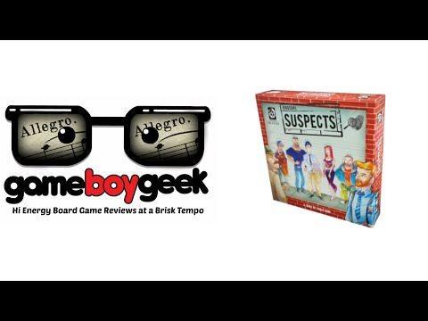 Unusual Suspects  - (Allegro) Review with the Game Boy Geek