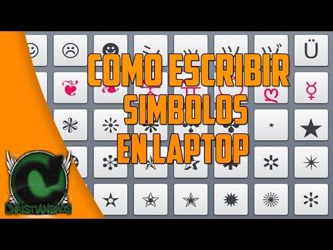 Como escribir simbolos en PC y Laptop ♪| 2015