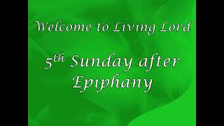 February 7, 2021 - Worship Service Livestream