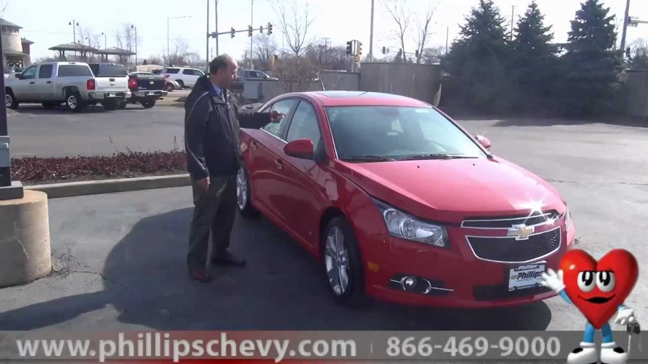 Cruze 2013 chevy cruze ltz for sale : 2013 Chevy Cruze LTZ with RS Package at Phillips Chevrolet - New ...