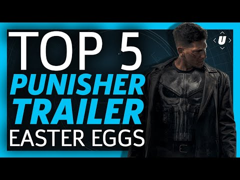 Top 5 Easter Eggs from The Punisher Trailer