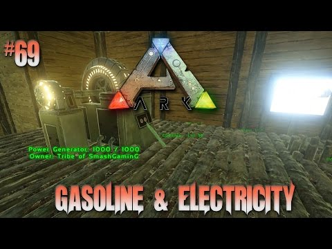 Ark Survival Evolved Season 2 #69 The Power Of Gasoline And Electricity