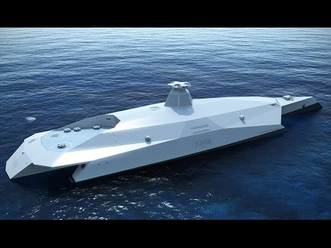 HMS Hi-tech, the warship of the future